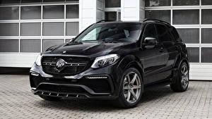 Фотографии Mercedes-Benz Черные Металлик 2016 TopCar GLE-Klasse Inferno Машины