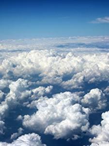 Фото Небо Облако Сверху Природа