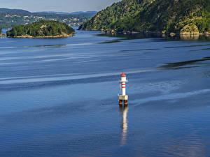 Фотография Осло Норвегия Остров Маяки Заливы