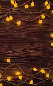Картинки Новый год Гирлянда Доски Шаблон поздравительной открытки