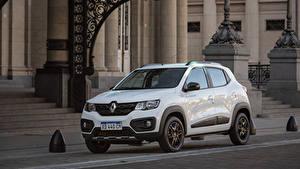 Фотография Renault Белых Металлик 2018-19 Kwid Outsider Latam Автомобили