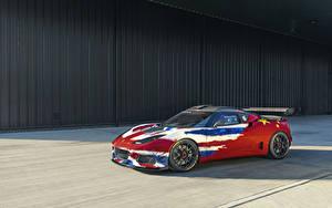 Фотография Lotus Стайлинг Красный 2019 Evora GT4 Concept Автомобили