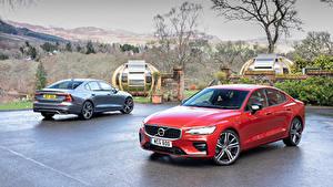 Картинка Volvo Две Металлик 2019 S60 T5 R-Design Автомобили
