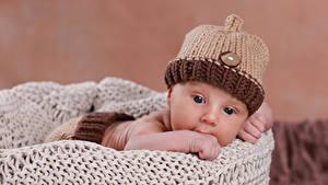 Фотография Грудной ребёнок Шапки