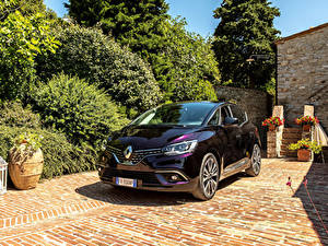 Фотография Renault Бордовая Металлик 2017-19 Scenic Initiale Paris Worldwide машины