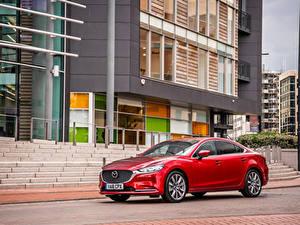 Картинка Мазда Красный Металлик 2018 Mazda 6 Авто
