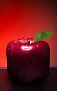 Обои Яблоки Вблизи Оригинальные Красный