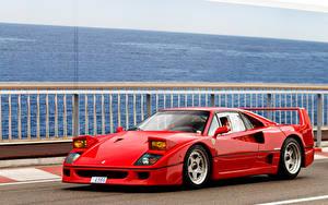 Фотографии Феррари Ретро Красный Металлик 1987-89 F40 FR-spec Pininfarina