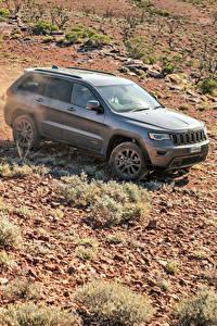 Картинки Jeep Серый 2016 Grand Cherokee  75th Anniversary авто