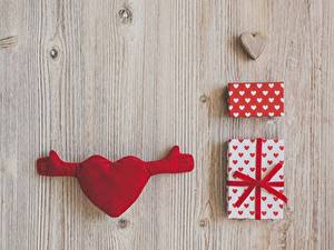Картинка День святого Валентина Подарки Серце