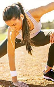 Картинка Фитнес Гимнастика Растяжка упражнение Спорт