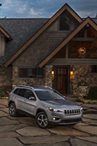 Фото Jeep Серая 2019 Cherokee Limited авто