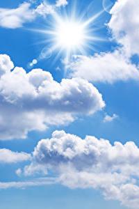 Фото Небо Облачно Солнце
