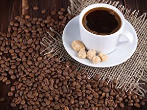 Картинки Кофе Чашка Сахара Зерно