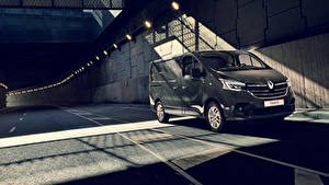 Фото Renault Серые 2019 Trafic Van Worldwide машины