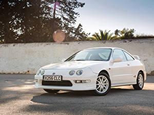 Фотографии Хонда Белых Металлик 1997-2001 Integra Type-R Авто