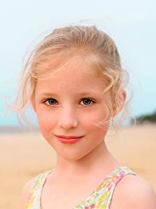 Фото Девочки Смотрит Лицо Милые Красивые Русые Isabella Дети