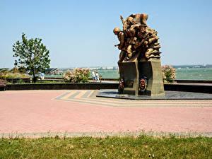 Обои Россия Крым Памятники Kerch Города