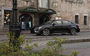 Фотография Toyota Черный Металлик 2019 Corolla XSE Sedan Машины