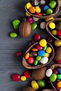 Картинки Шоколад Конфеты Яйца Пища