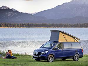 Фото Mercedes-Benz Синий Металлик Пикник 2019 Marco Polo Worldwide Авто