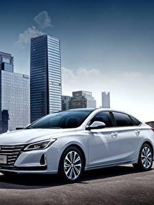 Картинки Белые Металлик Китайская Changan Raeton CC, 2020 авто