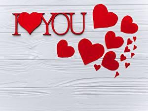 Фотографии День всех влюблённых Сердечко Доски Шаблон поздравительной открытки Английская Слова