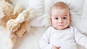 Фотография Игрушки Младенца Смотрит