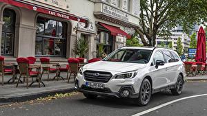 Фото Subaru Белый Металлик CUV 2019-20 Outback 2.5i Sport X машина