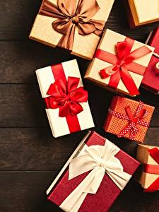 Картинки Рождество Подарок Бант Доски