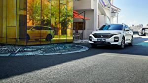 Обои Baojun Белых Металлик Универсал Китайские RC-5W, 2020 Автомобили