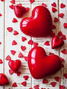 Фотографии День святого Валентина Много Доски Сердечко