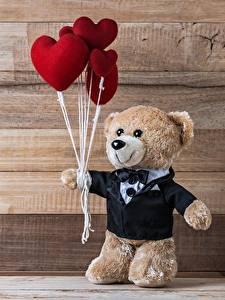 Фотография День всех влюблённых Мишки Доски
