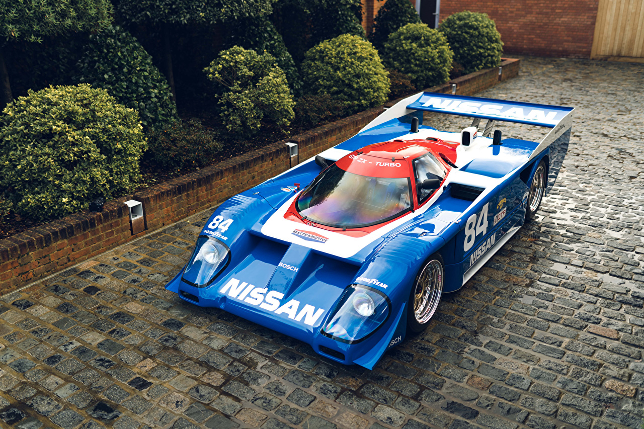 Фото Ниссан Стайлинг 1985-91 GTP ZX-Turbo Винтаж голубая Металлик Автомобили Nissan Тюнинг Ретро голубых голубые Голубой старинные авто машина машины автомобиль