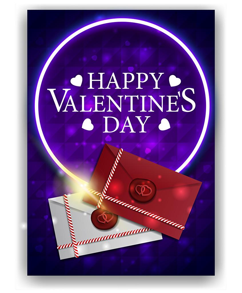 Фотографии День всех влюблённых Английский сердца Письмо Слово - Надпись Векторная графика  для мобильного телефона День святого Валентина английская инглийские серце Сердце сердечко слова текст письма
