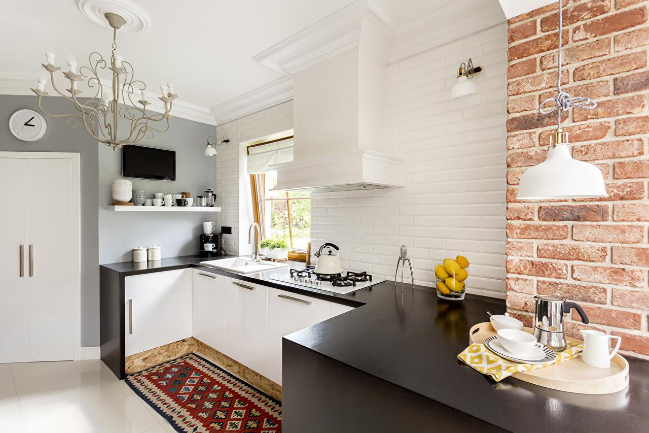 Фотография кухни Интерьер Стол Люстра Дизайн Кухня столы стола люстры дизайна
