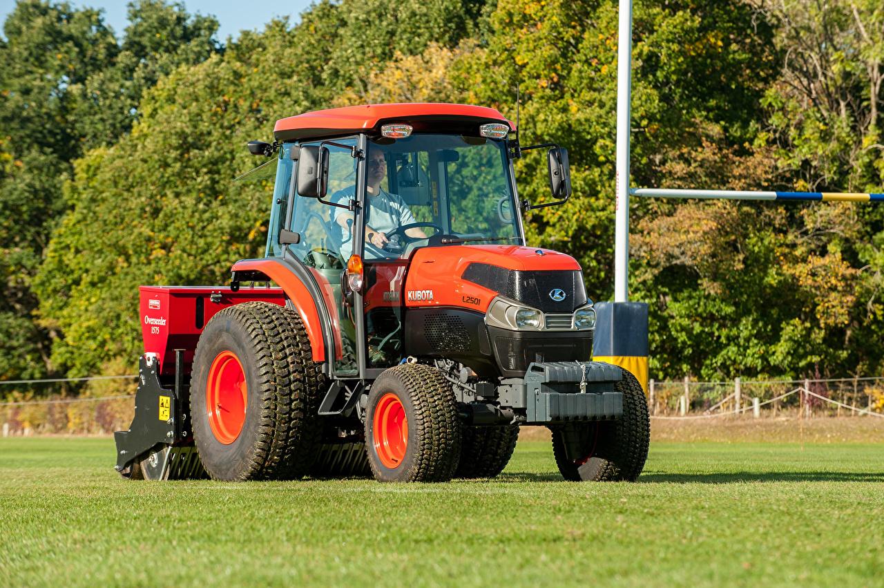 Фотографии Сельскохозяйственная техника Трактор 2018-20 Kubota L2501 трактора тракторы