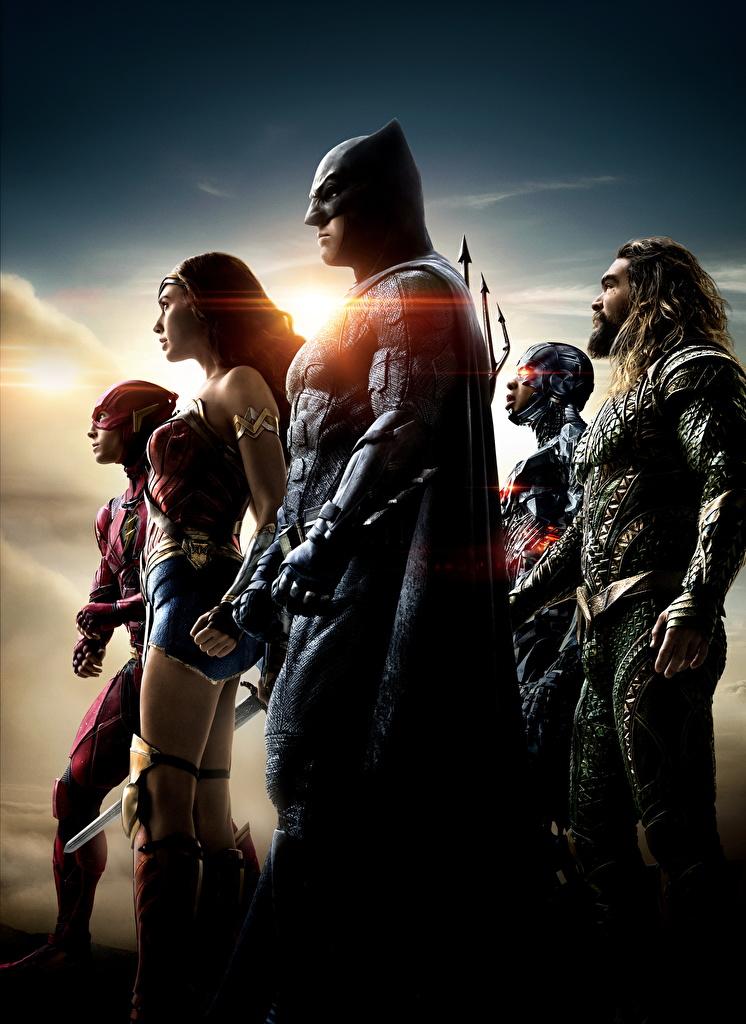 Обои Лига справедливости 2017 Галь Гадот Флэш герои Бэтмен ... Бэтмен Обои На Телефон
