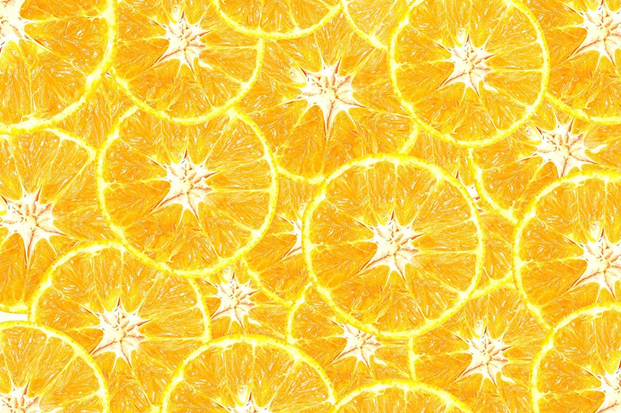Картинка Текстура желтые Апельсин Еда желтых Желтый желтая Пища Продукты питания