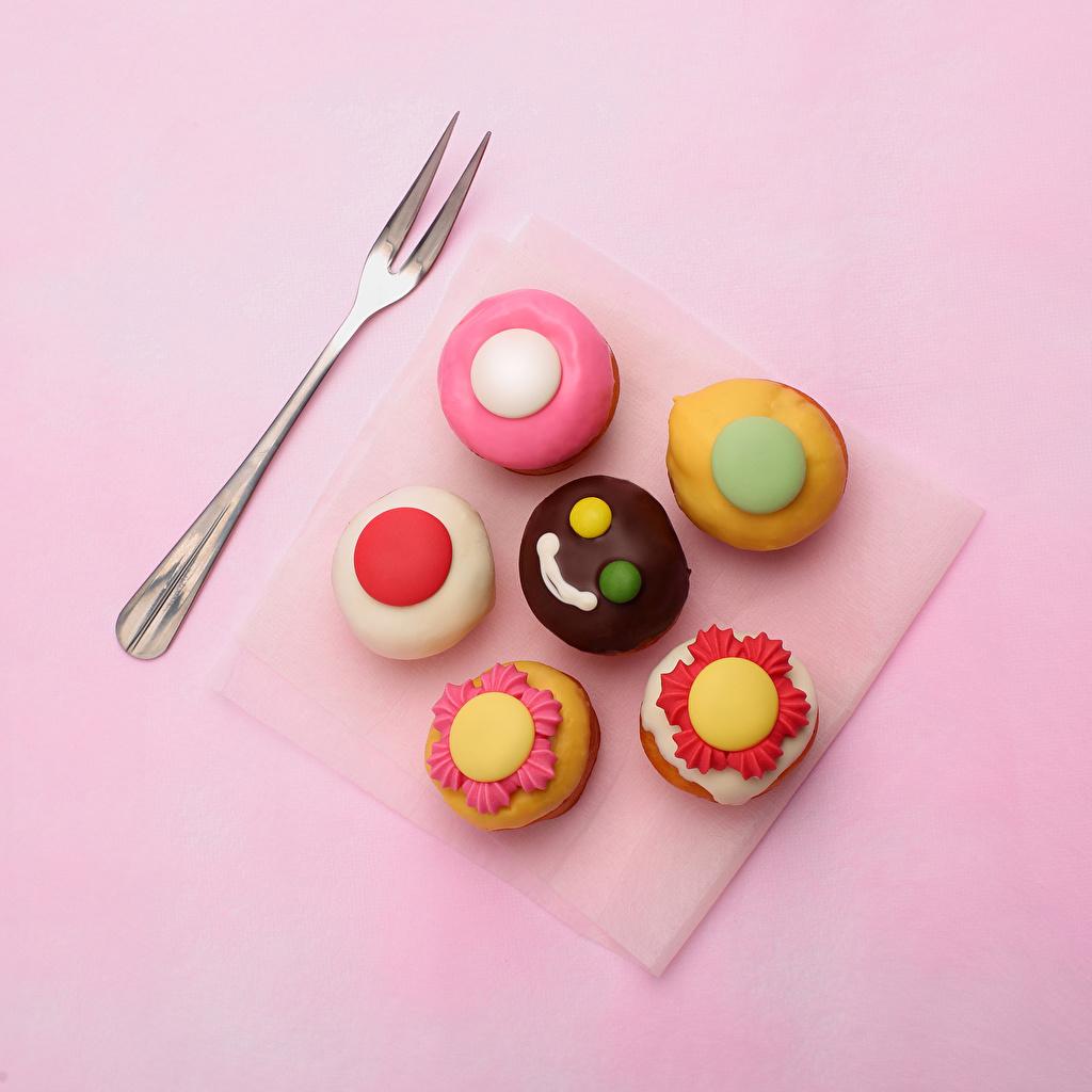 Фото Еда Пирожное Дизайн Цветной фон Пища Продукты питания дизайна