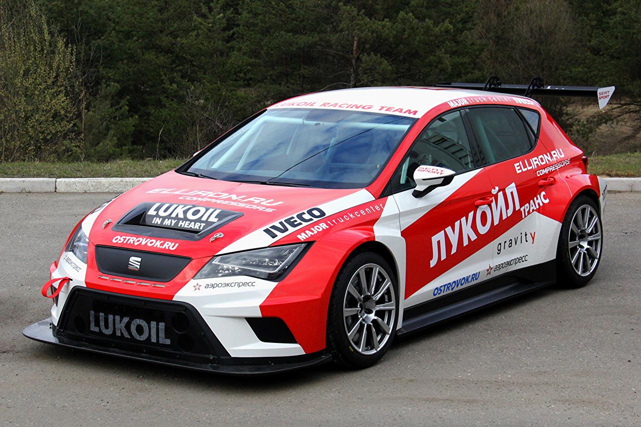 Фотографии Сиат Тюнинг 2015-16 León Cup Racer машина Seat Стайлинг авто машины автомобиль Автомобили