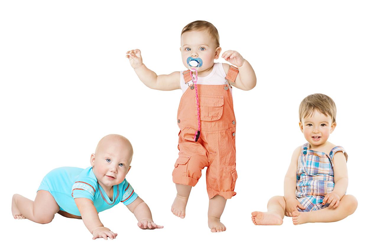Картинка мальчик младенца Дети втроем младенец Младенцы Мальчики мальчишка мальчишки грудной ребёнок ребёнок три Трое 3