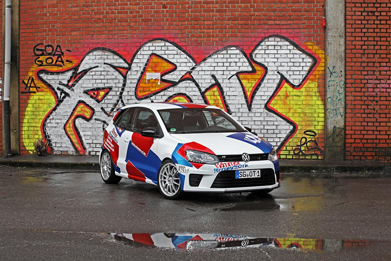 Фотография Тюнинг Фольксваген 2016 Polo R WRC Street (Typ 6R) Автомобили Volkswagen Стайлинг авто машины машина автомобиль