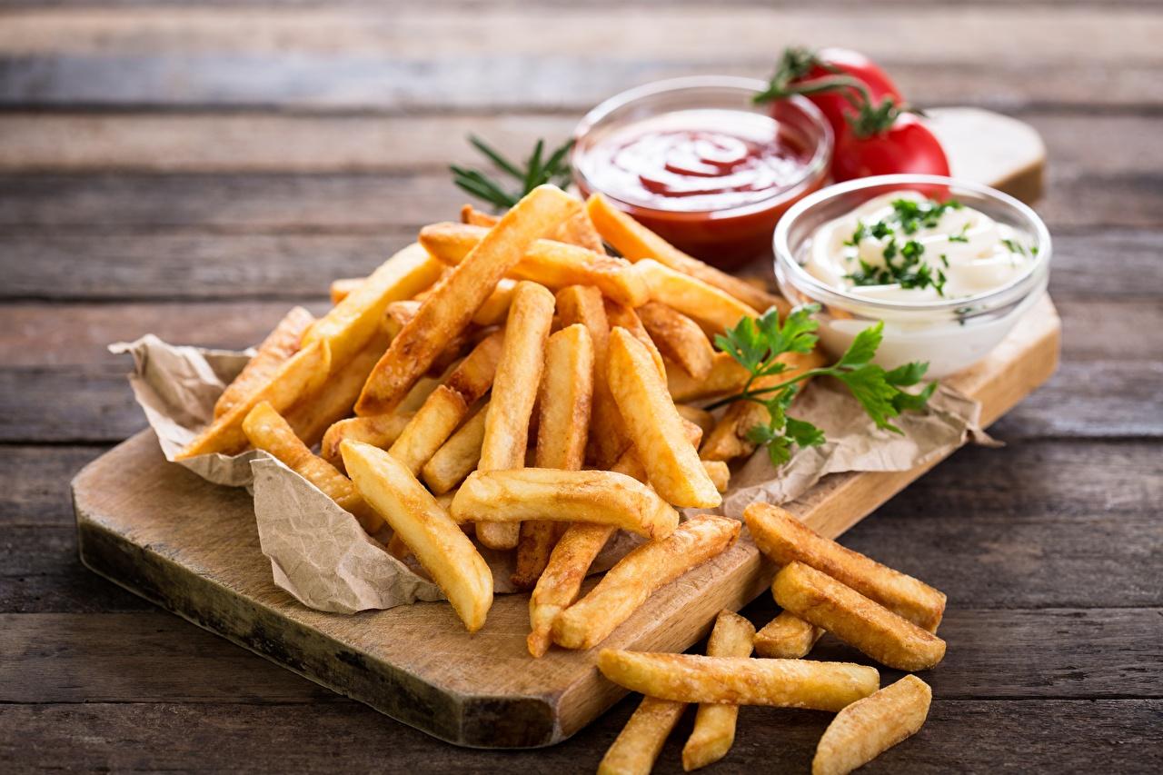 Картинки Картофель фри Быстрое питание Еда Фастфуд Пища Продукты питания