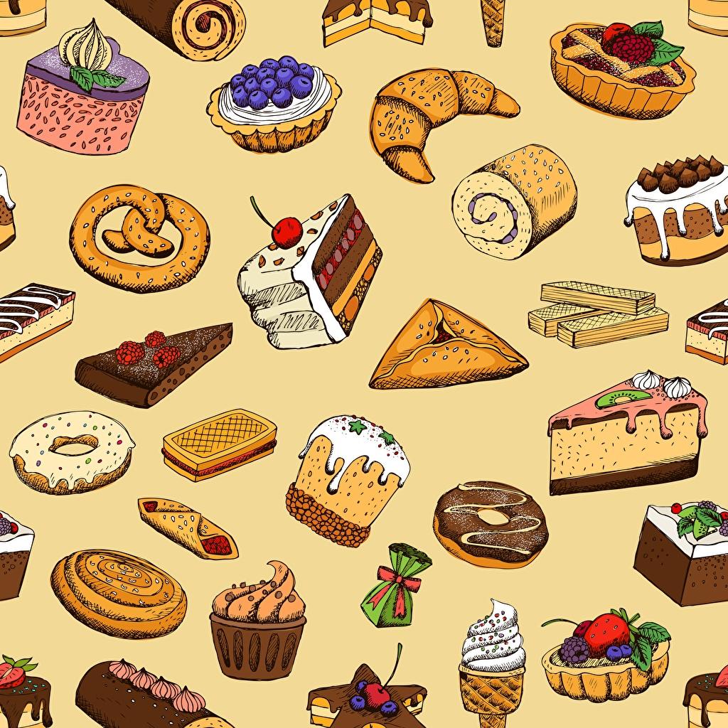 Фото Текстура Кулич Торты Кусок Еда Выпечка Сладости часть кусочки кусочек Пища Продукты питания сладкая еда