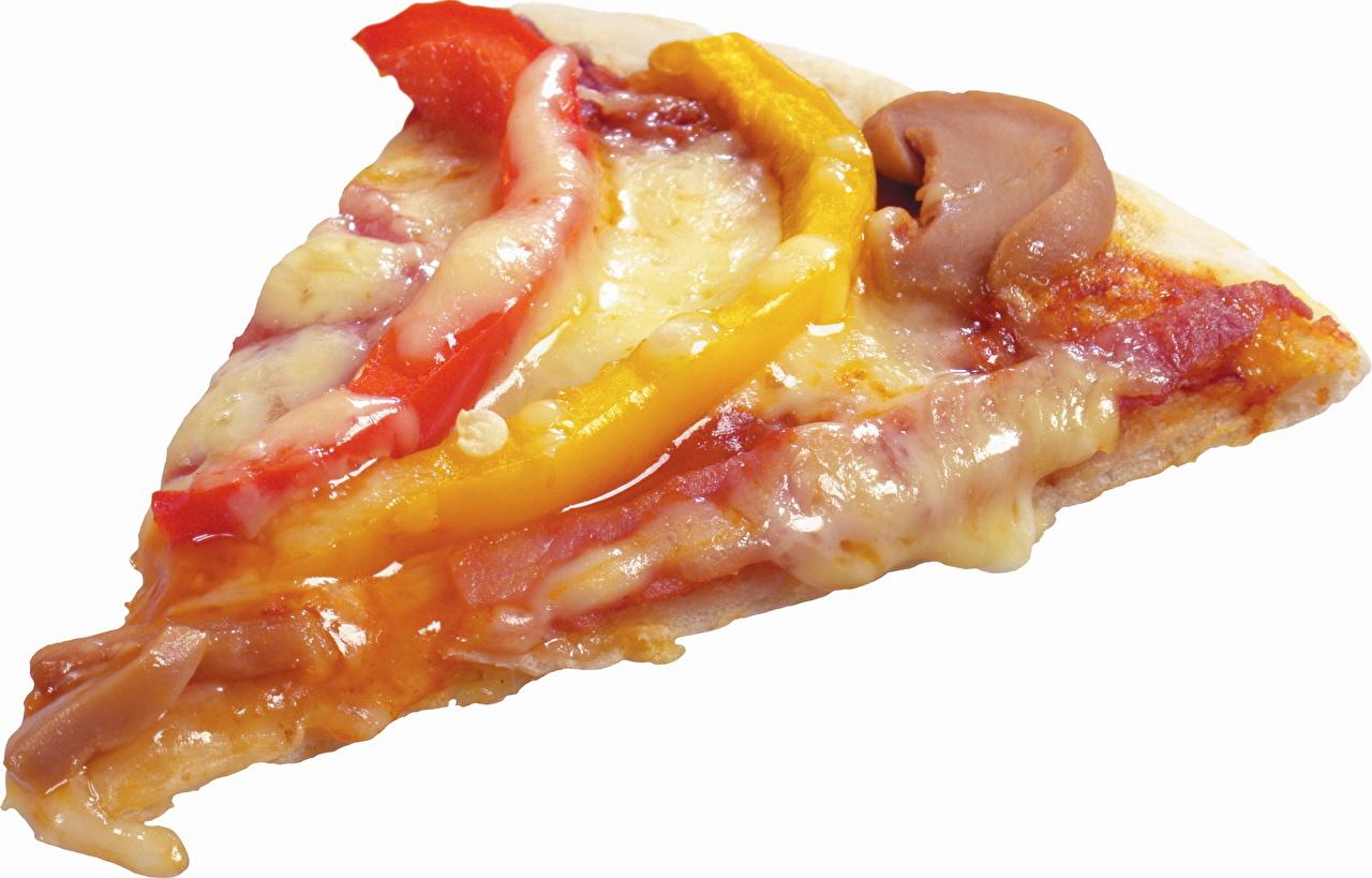 Картинка Пища Пицца часть Еда Продукты питания Кусок кусочки кусочек