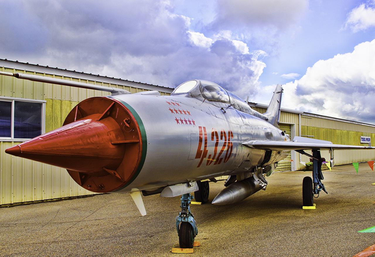 Картинка Истребители Самолеты Mig-21, Fishbed Авиация
