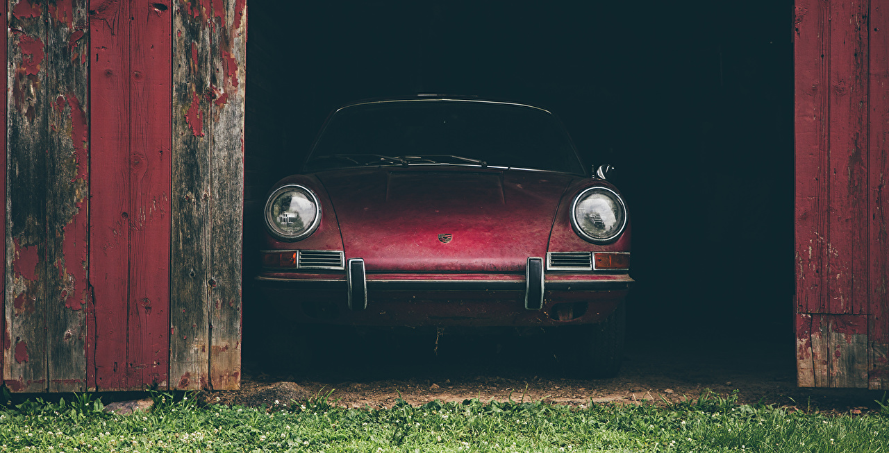 Картинки Порше 911S Спереди автомобиль Porsche авто машины машина Автомобили
