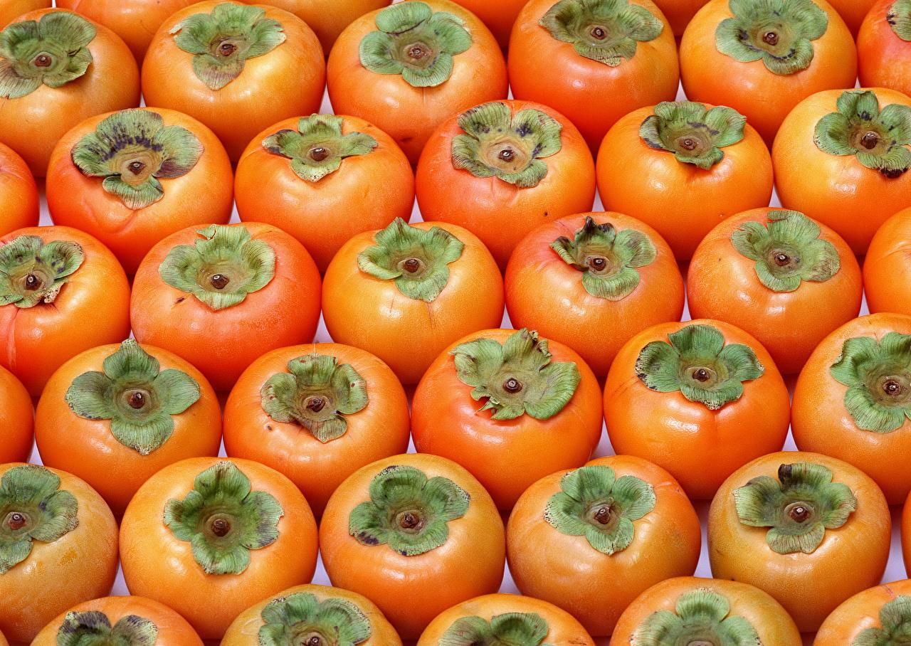 Фотография Текстура Хурма Еда вблизи Пища Продукты питания Крупным планом