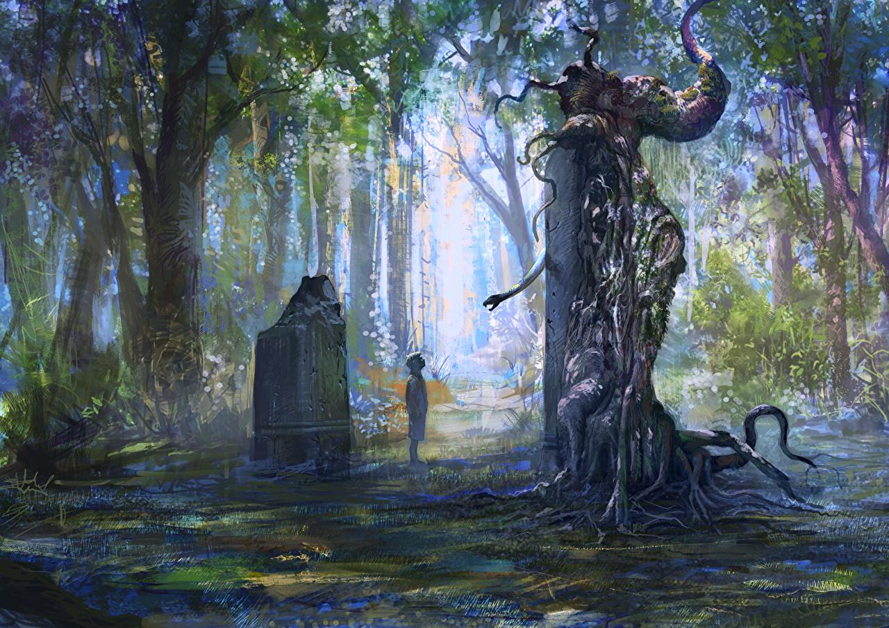 The Witcher 2: Assassins of Kings Леса Змеи Мальчики 11 глаз, Фантастика, Ведьмак 2 Игры Фэнтези